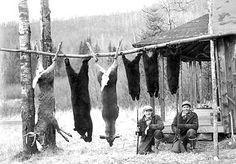 Vermont hunters, Vermont hunting camp, Vermont hunting photo