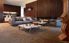 Roche Bobois - bet DH would like the paneling