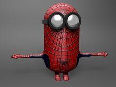 Photo of spider minion