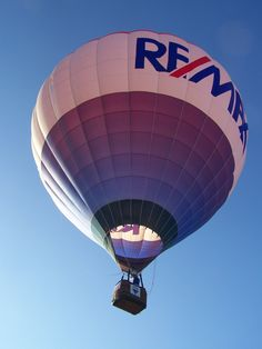 RE/MAX Balloon in Flight-Waterford