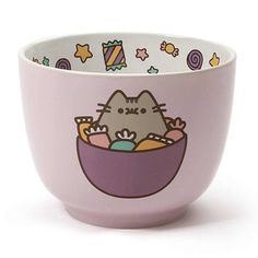 Enesco Pusheen by Our Name Is Mud Candy Stoneware Bowl Gato Pusheen, Pusheen Cute, Pusheen Store, Cute Kitchen, Candy Bowl, Cat Party, Cute Mugs, Kids, Doctor Whooves