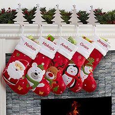 Reindeer Christmas Gift, Kids Christmas Stockings, Personalized Christmas Gifts, Christmas Gifts For Kids, Plaid Christmas, Family Christmas, Christmas Crafts, Christmas Trees, Christmas Lights