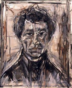 SO beautiful, i love the rough style, Giacometti
