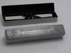 WEDDING CERTIFICATE BOX, PEWTER FINISH. by UHG, http://www.amazon.com/dp/B002D1WCBY/ref=cm_sw_r_pi_dp_litxqb1BBANKC