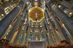 Interior | Basílica de la Sagrada Família
