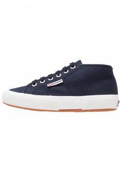 COTU - Sneaker high - navy/white. Verschluss:Schnürung. Fütterungsdicke:kalt gefüttert. Decksohle:Textil. Obermaterial:Textil. Details:Ziernähte. Materialkonstruktion:Canvas. Muster:unifarben. Sohle:Kunststoff. Schuhspitze:rund. Ab...