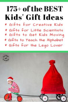 175 Of The Very Best Gift Ideas For Kids Including Creative Gifts, Science Gifts, Gifts To Get Kids More Active, Abc Gifts And Lego Gifts. Unique Gifts For Kids, Kids Gifts, Gifts For Family, Lego Gifts, Non Toy Gifts, Holiday Fun, Holiday Gifts, Christmas Gifts, Christmas Stuff