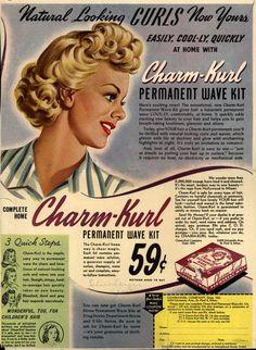 1944 - Charm-Kurl Company add