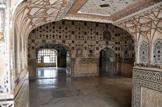 Sheesh Mahal (Hall of Mirrors), Jaipur, India - TripAdvisor Hall Of Mirrors, Jaipur India, India Travel, Barcelona Cathedral, Trip Advisor, Building, Buildings, Construction