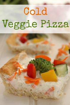 The next time you want a fun activity to do with your kids and you need them to eat a few vegetables, pull out this Cold Veggie Pizza recipe. You'll all be glad you did!