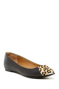 Chinese Laundry | Chinese Laundry Extra Credit Leopard Spike Flat | Nordstrom Rack