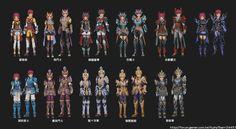 Aura kingdom outfits