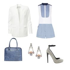 Light blue outfit