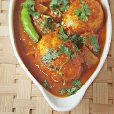 Dim Kosha - a Spicy Egg Curry from the Indian state of West Bengal.