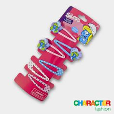 #CharacterFashion Smurfette Hair Clips Gifts For Kids, Great Gifts, Character Group, 9 December, Smurfette, Funky Fashion, Gift Vouchers, Hair Clips, My Love