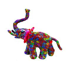Big elephant Art.Animal Elephant sculpture 3D polymer by MIRAKRIS