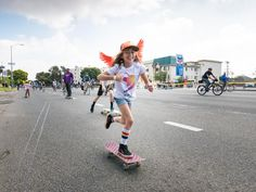 Girl is NOT a 4 Letter Word: GN4LW Crew Takes Over The Streets Of LA During CicLAvia.