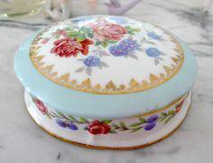 Antique Limoges porcelain box