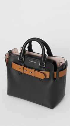 The Belt - Burberryburberry handbags purses for womenThe Mini Leather Belt Bag in Black - Women A miniature tote influenced by our iconic trench, panelled inside and out in supple two-tone leathers – updated with an additional strap for crossbody c Hermes Handbags, Burberry Handbags, Luxury Handbags, Purses And Handbags, Leather Handbags, Cheap Handbags, Popular Handbags, Burberry Shoes, Burberry Bags