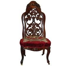 rococo revival - Belter slipper chair