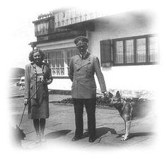 Eva Braun and Hitler