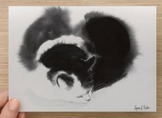"Medium postcard (7"" x 5"") Card with my cat art Postcards by bodorka on Etsy https://www.etsy.com/listing/267233647/medium-postcard-7-x-5-card-with-my-cat"