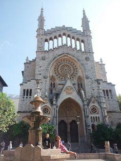 Esglesía de Sant Bartomeu, Soller, Mallorca, Spain