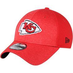 56e866c481f32 Kansas City Chiefs New Era Shadowed Team 39THIRTY Flex Hat - Red