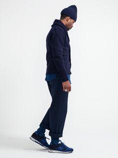 Streetwear / Street Style / New balance / Kicks / Sneakers / Blue / Navy Blue