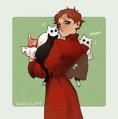 ☆artblog☆ - Gaara week, day 5 Cat