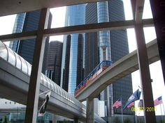 People Mover Detroit Michigan