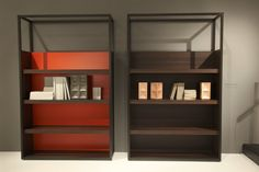 New finishes now available for our Dedicato storage: smoked oak with optional flame detail.