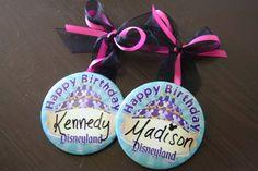 Use Disney Pins & turn them into ornaments