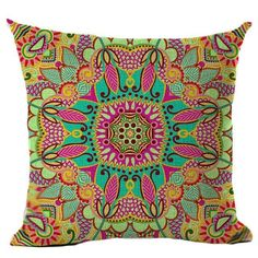 Flower Cushion, Paisley Style Pillow, Tree of Life, Marilyn for Sofa; Decorative Pillows