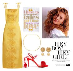 """New Year's Eve"" by eljg2 on Polyvore featuring мода, MASSCOB, Aquazzura, Jennifer Zeuner и Dolce&Gabbana"