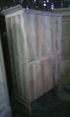 Behind of Cabinet