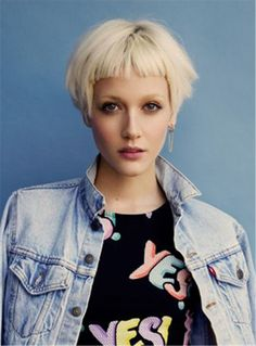 Trendy short haircut Bob Hairstyles Synthetic Hair Capless Wigs 8 Inches