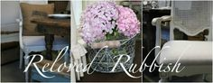 a local store I like to visit: Loot... and their blog: Reloved Rubbish