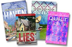 WIN 4 quilting-themed novels from American Quilter's Society and Quilt Trends Magazine! Enter by June 30th.  http://www.quilttrendsmag.com/giveaways/book.shtml