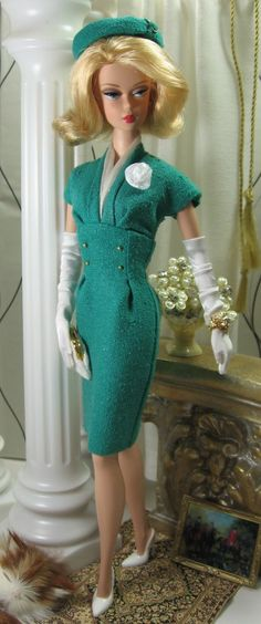 Kelly Girl for Silkstone Barbie by MatisseFashions on Etsy