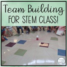 Team Building idea for STEM class or any class! Kids love this one!
