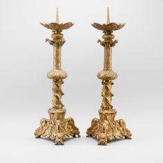 Par de casticais em bronze do inicio do sec.19th, estilo Barroco, 71cm de altura, 2,350 USD / 2,120 EUROS / 8,160 REAIS / 15,000 CHINESE YUAN https://soulcariocantiques.tictail.com