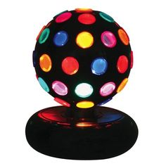 A groovy Multicolor Disco Ball Light.