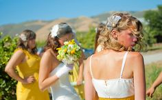Wedding photography of this bridal party at a ranch in San Luis Obispo California. www.danielnealphotography.com