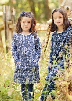 Winter Water Factory Night Owls Dress  #littleskyefall2012
