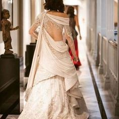 Bringing sexy back! For couture appointment Indian Wedding Gowns, Indian Gowns Dresses, Indian Bridal, Indian Attire, Indian Outfits, Indian Wear, Bridal Outfits, Bridal Dresses, Bridal Bouquets
