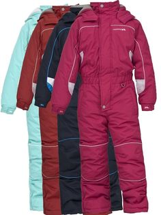 06febd28e Trespass laguna boy girl unisex 1 piece kids all in one ski snow suit 2 -  12 yrs