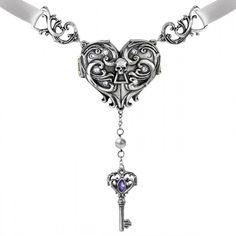 """Inamorato"" Locket Necklace by Alchemy of England,,love this neclace,,so coool."