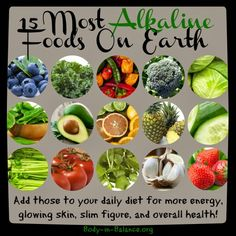 Alkaline foods: add to your diet for more energy, glowing skin, slim figure and overall health boost #plantbased health