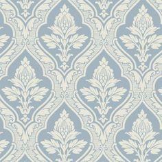 TAPET GAMMELSVENSK NYANS HAGA BLÅ Paper Wallpaper, Wall Wallpaper, Painting Patterns, Fabric Patterns, Swedish Wallpaper, Antique Keys, Fabric Rug, Design Seeds, Paint Schemes